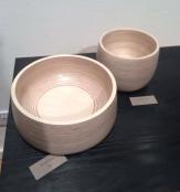 Turned Plywood bowls by Byron&Gomez
