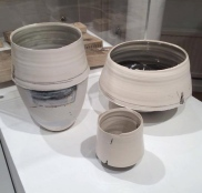 Hannah Tounsend's printed ceramics.