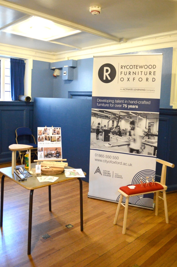 The THIS GIRL MAKES and Rycotewood stand at the RSA Motivate event.