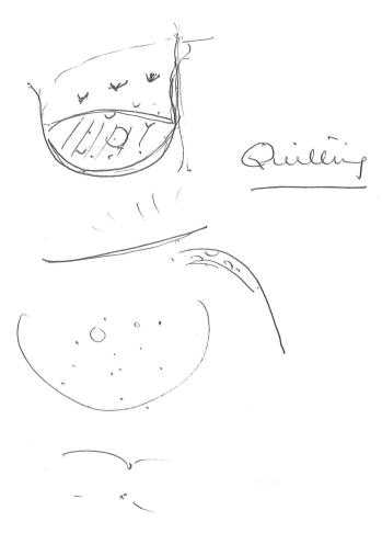 quilting diagram