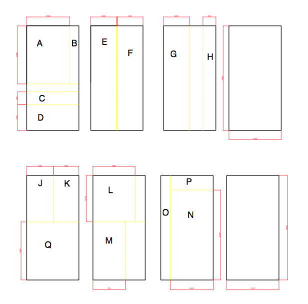 Plywood comp sections
