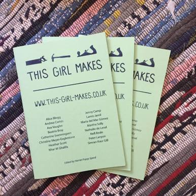 Fresh copies of THIS GIRL MAKES (Volume 1).
